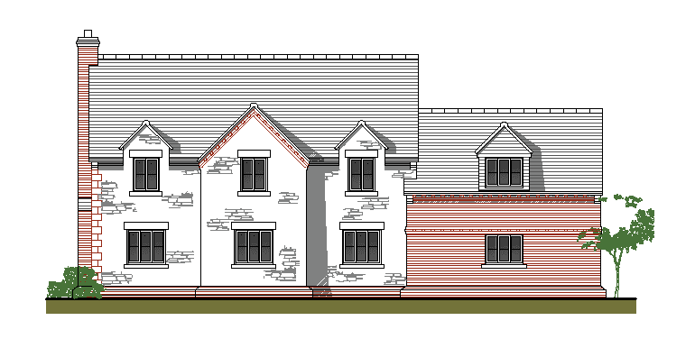 Plot 2 Lilly Close Front Elevation